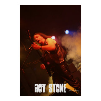 ROY STONE HUGE POSTER