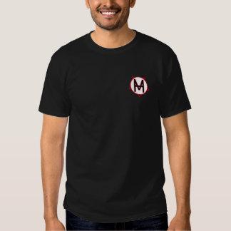 Royal HMV heart dark T Shirts