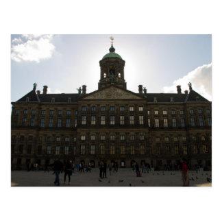 Royal Palace of Amsterdam Postcard