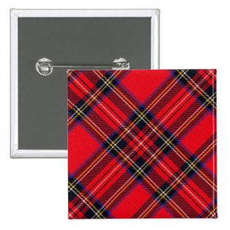 Royal Stewart 15 Cm Square Badge
