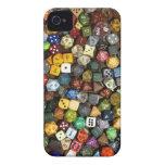 RPG game dice iPhone 4 Case-Mate Case
