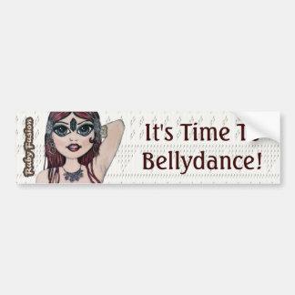 Ruby Fusion Slogan Bellydance Car Bumper Sticker