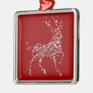 Rudolf Reindeer Stars Christmas Tree Ornament