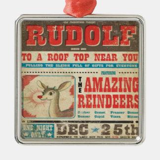 Rudolf Vintage Christmas Ornament