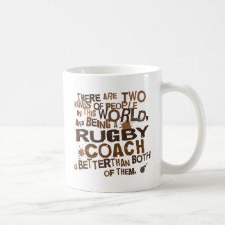 Rugby Coach Gift Basic White Mug