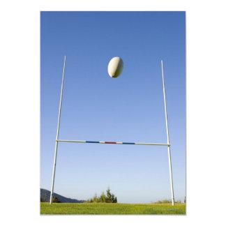 Rugby Goal 13 Cm X 18 Cm Invitation Card