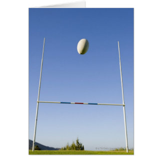 Rugby Goal Greeting Card