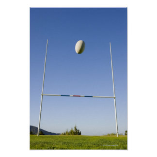 Rugby Goal Poster
