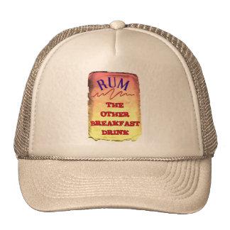 RUM, THE OTHER BREAKFAST DRINK CAP