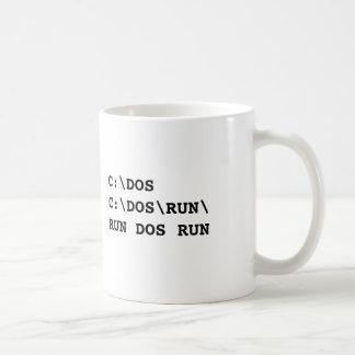 RUN DOS RUN BASIC WHITE MUG