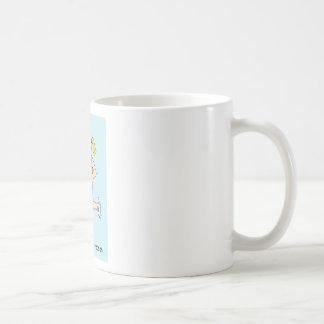 Running for a reason/cake for ladies. basic white mug
