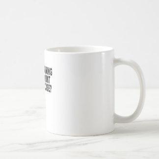 Running Late Men's T-Shirt.png Basic White Mug