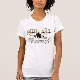 Runway? Who Needs a Runway? Tshirts