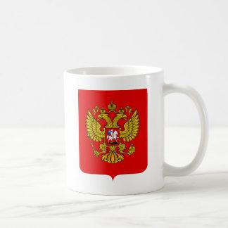 Russia Coat of Arms Basic White Mug