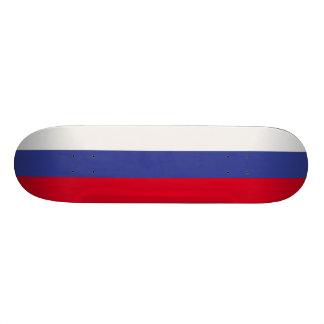 Russia Flag 18.1 Cm Old School Skateboard Deck