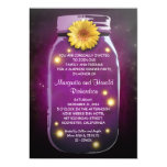 Rustic Mason Jar Wedding Anniversary 13 Cm X 18 Cm Invitation Card
