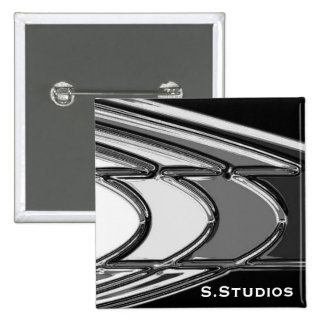 S.Studios Logo 15 Cm Square Badge