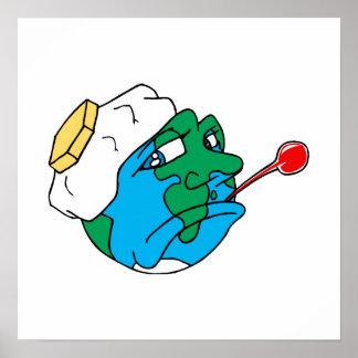 Sad planet poster