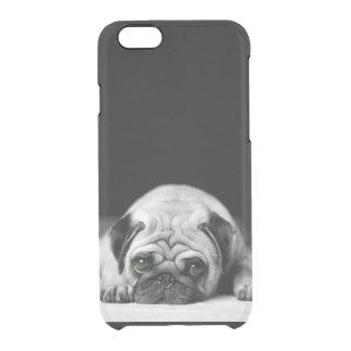 Sad Pug Clear iPhone 6/6S Case