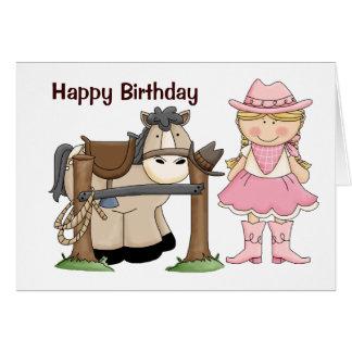 Saddle Up Birthday Card