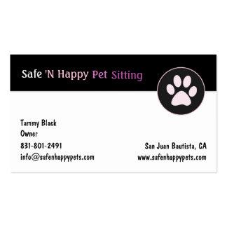 Safe N Happy Pack Of Standard Business Cards