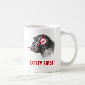 Safety First! Basic White Mug