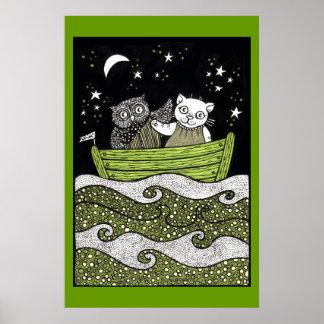 Sail Away Art Poster