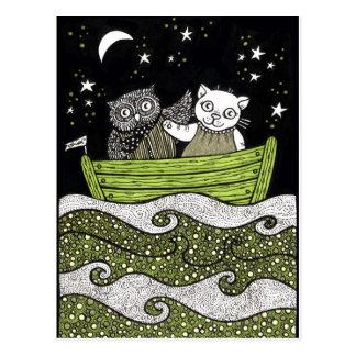 Sail Away Postcard