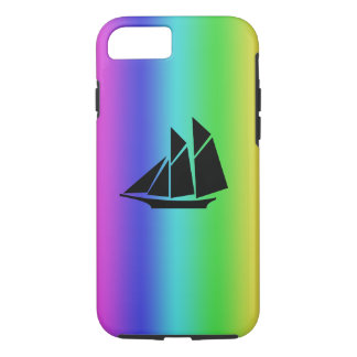 Sail boat iPhone 7 case design hard cover