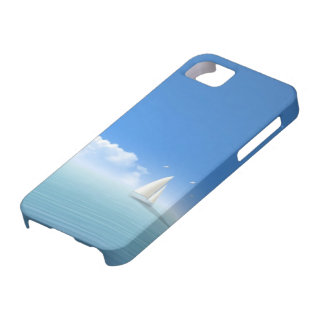 sailboat on the horizon iPhone 5 cover