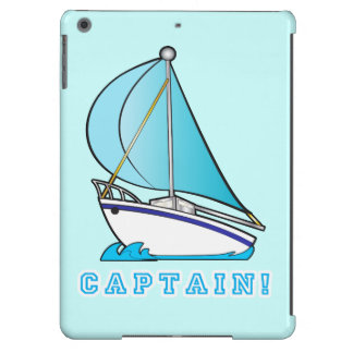 Sailing Captain Cover For iPad Air
