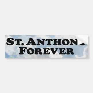 Saint Anthony Forever - Basic Bumper Sticker