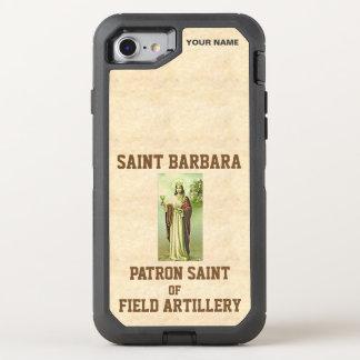 SAINT BARBARA (Patron Saint of Field Artillery) OtterBox Defender iPhone 7 Case