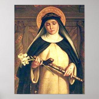 Saint Catherine of Siena Poster