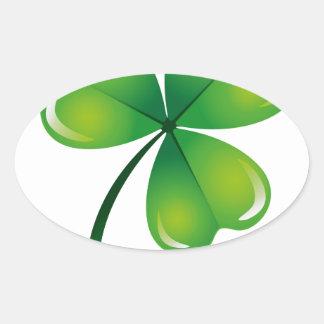 saint Patrick day Oval Sticker