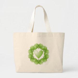 Saint Patricks Day Design Jumbo Tote Bag