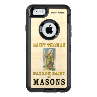 SAINT THOMAS (Patron Saint of Masons) OtterBox iPhone 6/6s Case