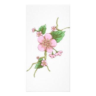 Sakura Blossoms Photo Greeting Card