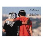 Salaam Shalom Postcard