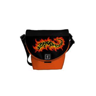 Salamander Flaming Courier Bags