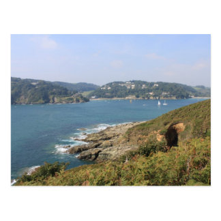 Salcombe Estuary, Devon Postcard