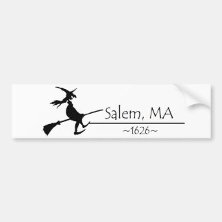 Salem, MA 1626 Bumper Sticker