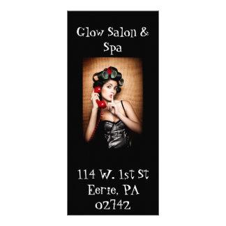 Salon & Spa rack card,... Full Color Rack Card