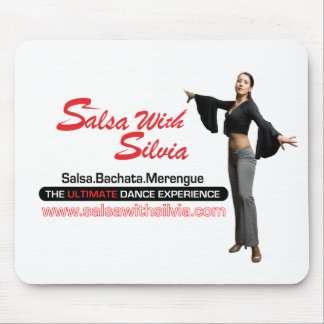 Salsa With Silvia Mouse Pad