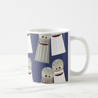 Salt and Pepper Cute Pattern Basic White Mug
