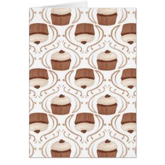 Salted Caramel Cupcake Greeting Card