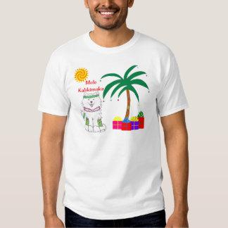 Samoyed Hawaiian Christmas T Shirts
