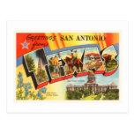 San Antonio #2 Texas TX Vintage Travel Souvenir Postcard