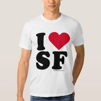 "SAN FRANCISCO - ""I LOVE SF"" ""I LOVE SAN FRANCISCO"" SHIRTS"