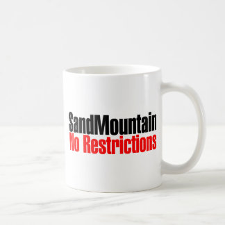 Sand Mountain No Restrictions Basic White Mug